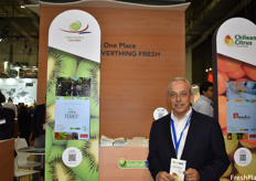 Carlos Cruzat, president of the Chilean Kiwifruit Committee
