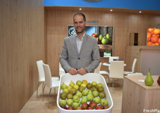 Fernando Moyano of Kleppe. The company is seeing good volumes for their current pear season and find that the pricing in the European market is much better this year compared with last year.