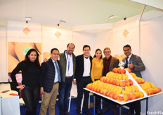 The Fresh Export Team. The Mexican mango season began just a few weeks ago and the teams shows off their Mexican-grown mango display.