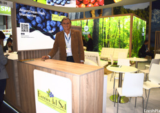 Alejandro Pannunzio of Berries Del Sol. The company was the first to begin exporting Argentine blueberries to Norway, Israel, and China and are looking to begin exporting to countries such as Malaysia, Czech Republic, and Poland.