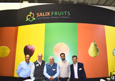 Alejandro Moralejo (CEO), Luis Elortondo (US Director), Daniel Calvo (CFO), Ignacio Vidales (Sales Manager), and Juan Gonzales Pita (Sales Director) of Salix Fruits, who bring Argentinian lemons into the US.