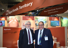 Gerardo Basurco and Guerlio Peralta of Peru Vision, an organization dedicated to the promotion of commerce and international cooperation between Germany and Peru.