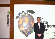 Martin Andrés Carigani, Public Affairs and Sustainability Director for San Miguel Argentina, who work with a large variety of fresh fruits from the Southern Hemisphere which is exported throughout the world.