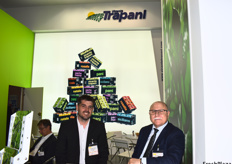 Andrés Gonzales, Director of Vincente Trapani, and Alain Suglia, General Manager of Trapolska.
