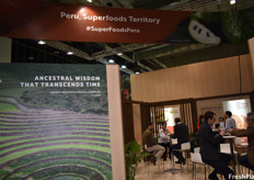 The Peruvian pavilion featured secluded meeting rooms for the Committees, such as the Peru Citrus, Proarandanos, Peru Hass Avocado Growers, and APEM.