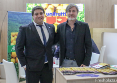 Bruno Fornaciari and Massimiliano Peghin of Unifrutti