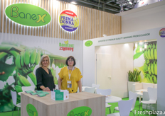 Banex team and Primadonna at the stand