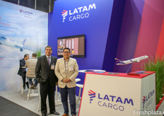 Carlos Alberto and Juan Manuel of Latam Cargo
