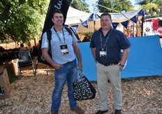 Jasper Raats, Limpopo correspondent for the Landbouweekblad with Jacques Snyman of Tzaneen-based AgriBulletin.