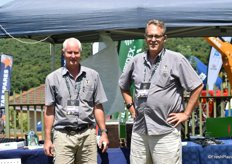 Daniël Hugo and Leigh Dale of Martin Dale Seedlings, Tzaneen-based nursery.