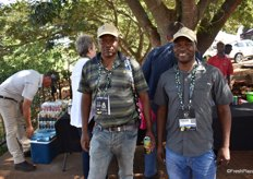 Thomas Bila and Tebogo Lebea of the Limpopo Department of Agriculture and Rural Development, based in Giyani.