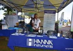 Ncedo Khoza of Hanna Instruments.