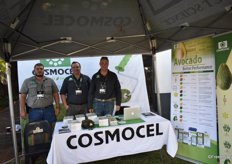 Frikkie Marx, Wilhelm Schultz and Alan Bender of Cosmocel.