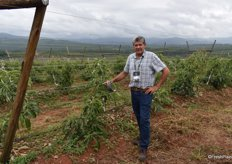 Ernst Höll, banana production manager at Bananaworld in Boane, Mozambique.
