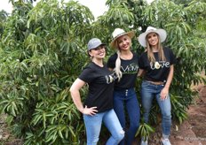Brand ambassadors of the Viavi avocado: Inye Liebenberg of Brand Cartel, Izelle Hoffman, chef, and Nicole Lambrou, Brand Cartel.