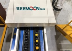 With citrus Sparacino Farms are getting 95 per cent accuracy from the Reemoon system