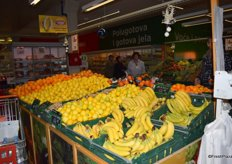 Citrus and bananas are a firm favourite during the winter in Serbia.