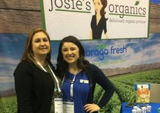 Heather Fuller and Ashleigh Lombardi of Soledad, Ca.- based Braga Fresh Family Farms.