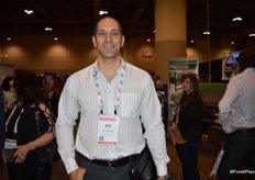 Sam Semaan with GoPure Software is walking the show