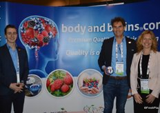 Sebastiaan Bye, Jacques Luteijn and Carolien Vervaet with Body & Brains Growers Packers Direct