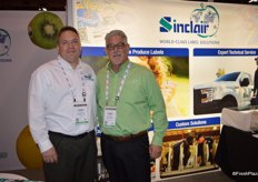 Chris Faxon and Steven Emmons with Sinclair Systems International.