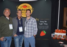 Carlos Blanco, Jon Esformes and Lyle Bagley with Sunripe Certified Brands