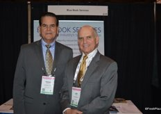 Frank Sanchez and Jim Carr with Blue Book Services