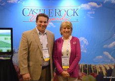 Steven Shearer and Laura Berryessa with Castle Rock Vineyards