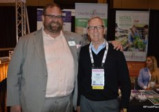 John Toner and Dan Vaché with the United Fresh Produce Association
