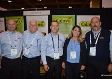 The team of Calavo Growers is represented by Russ Mikolasy, Ron Araiza, Peter Shore, Angela Tallant and Rick Joyal.