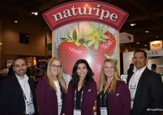 The team of Naturipe: Fernando Aguiar, Marissa Ritter, Jaqueline Padilla, Kyla Oberman and Joe Quijada
