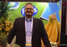 Justin Heffernan with Fyffes North America