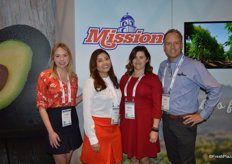 The Mission Produce team from left to right: Julianna St. Geme, Monica Robles, Denise Junqueiro and Brent Scattini.
