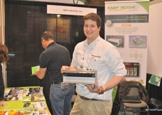 Dillon Kunkle from Maf Industries shows the newest addition: the Berry Way.