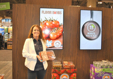 Nancy Pickersgill from Sunset Produce shows the Flavor Bombs