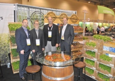 Kevin Batt, Mike Reed, David Fahrenbruck and David Bell from Houweling's Tomatoes