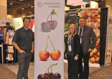 James Michael, Karley Rabe rand BJ THurlby from NorthWest Cherries