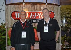 Jim Grabowski and John Masier representing Well Pict.