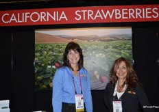 Chris Christian and Debbie Rogers representing the California Strawberry Commission