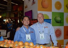 Jez Balsa and Ron Steele from Paramount Citrus.