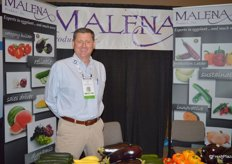 Peter Hayes with Malena Produce