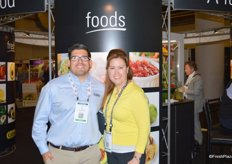 Joe Nava with Calavo Growers and Susan Jones from Limoneira.