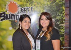 Alma Huerta and Lorena Estrada with Sundance Organics