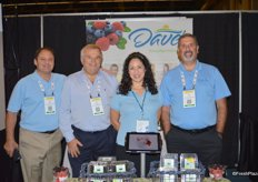 The team of Dave's Specialty Imports. From left to right David Federle, Pablo Ornague, Leslie Simmons and Mike Bowe.