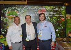 Trinity Fruit Sales, represented by Oscar Ramirez, Levon Ganajian and Gunner White.