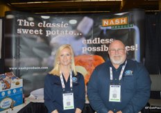 Laura Hearn and Don Sparks with Nash Produce