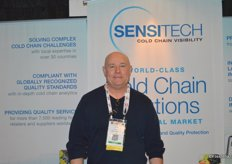 Stuart Griffiths with Sensitech