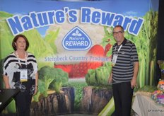 Julie and Larry Ryan from Steinbeck Country Produce