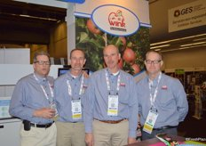 The Wink team, from left to right Jim Czenze, Michael van Meekeren, Stephen van Meekeren and Wes Visser.