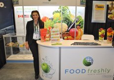 Margaret Tomaszewska from Food Freshly North America, they are growing in the North American market in providing shelf- life extenders and food safety solutions